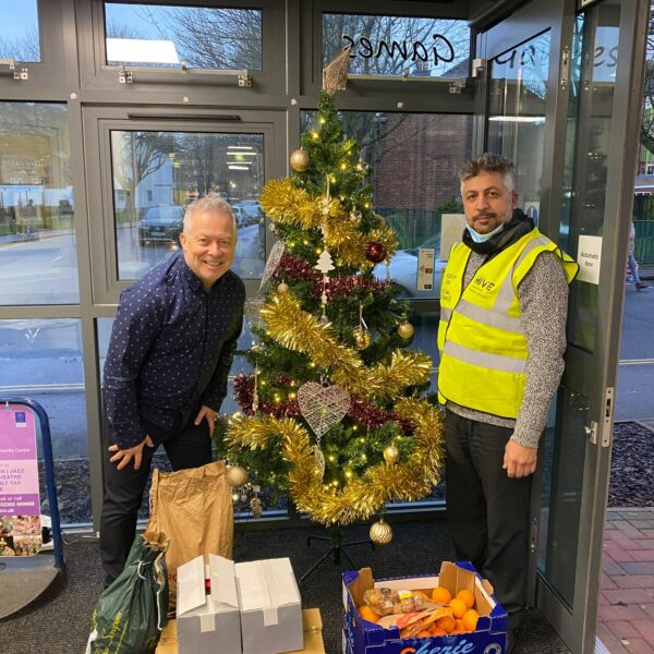 Fare Share deliveries in full swing over Xmas